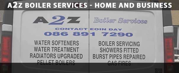 A2Z Boiler Services provide Oil and Gas Boiler Service, Repairs and Installations in Athy, Portlaoise, Naas and Maynooth in Co. Laois and Co. Kildare. Phone (086) 891 7290